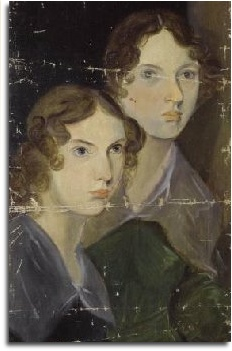 Portrait of Anne & Emily Bronte by their brother, Branwell Bronte - National Portrait Gallery